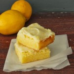 {Gluten-Free} Lemon Cheesecake Bars