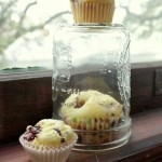 {Gluten-Free} Corn Muffins with Blackberries & Orange Zest