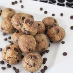 {Almost Raw} Cookie Dough Bites