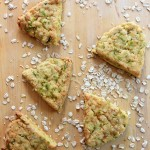 {Gluten-Free + Egg-Free} Herbed Cheddar and Oat Scones