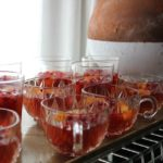 Pomegranate, Tangerine, and Champagne Jellies
