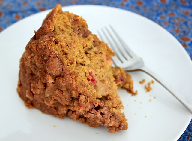 Pumpkin Pecan Cake Recipe