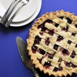 {Gluten-Free} Cherry-Blueberry Pie