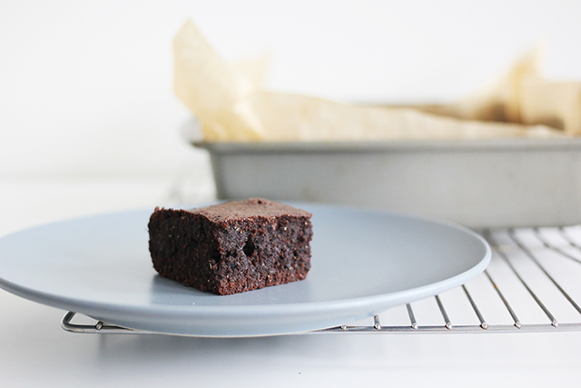 gluten free brownies made with cocoa powder