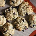 {Gluten-Free} Blueberry Biscuits