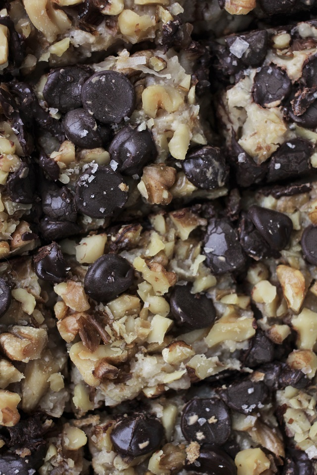 vegan gluten-free 7 layer bars